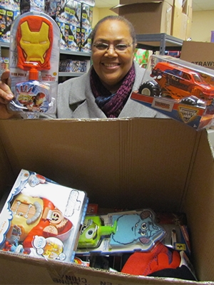 """A CBI caseworker """"shops"""" for toys to take to a family in need."""